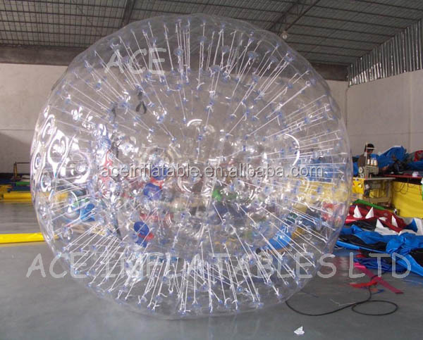 Colour Inflatable Zorb Ball