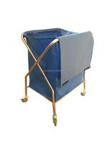 Medical stainless steel Dressing Trolley for Dirty Clothes