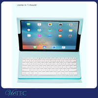 High quality wireless bluetooth slim tablet case with keyboard for iPad pro