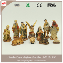 Hot Sale New Product Religious Resin Christmas Nativity Sets Wholesale Nativity Plastic Animals
