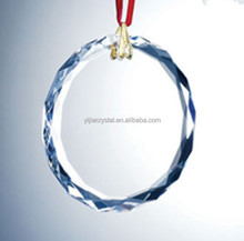 newest pendant drop crystal round christmas glass ornaments