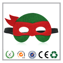 2015 New Hot Sale Mask!!! Teenage Mutant Ninja Turtle Felt Party Mask with High Quality