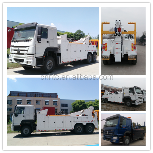 HOWO 6x4 Road-block Removal Truck , Tow Truck With Good Price