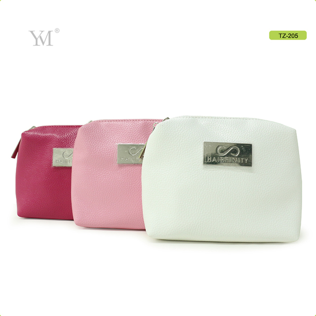 very good quality china wholesale luxury leather cosmetic set bag