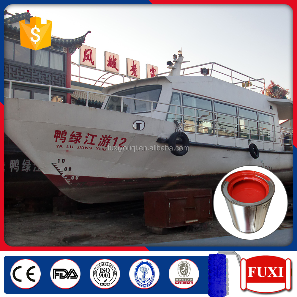 OEM Service Chlorinated Rubber Anti Corrosion Marine Paint Ship Paint