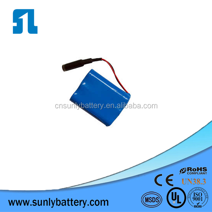 3s1p Samsung Li Ion 2600mah 12v 18650 battery pack