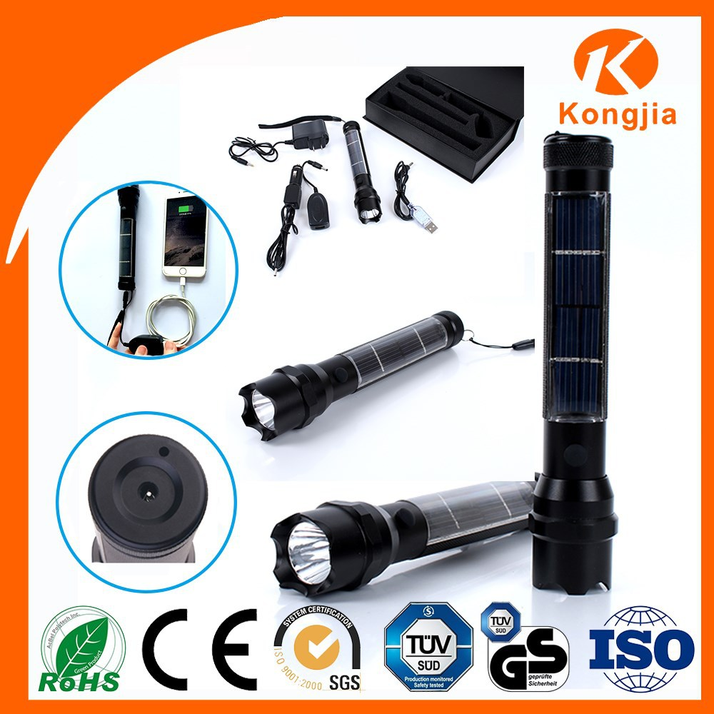 Ultra Bright Rechargeable Aluminium Alloy Led Torch Flashlight ...
