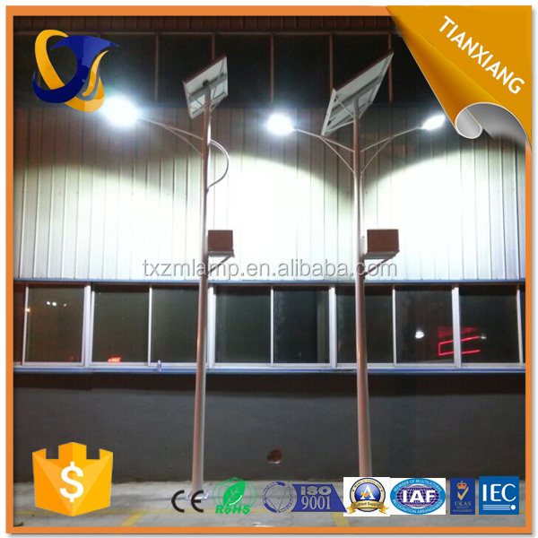 LED street light solar system CE CCC certification approved aluminium Led fixture