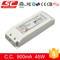 KI-50900-TD 220v triac constant current led drivers 45w ip20 triac dimmable
