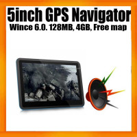 "5""inch Display Free GPS Maps 4GB Universal Car Navigator GPS"