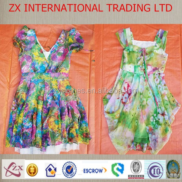 supply used clothing and shoes from UK sorted used clothes cream quality