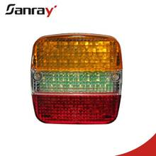Wholesale china auto accessories led light universal truck trailer rear tail lamp for truck