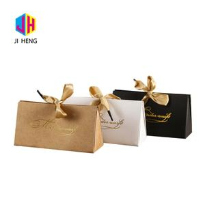 Special design wedding favour sweet candy hard kraft paper gift box