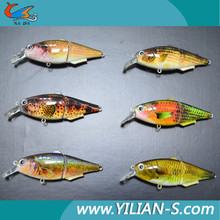 Life-like Painted floating baits fishing tackle Wholesale in China