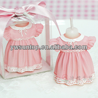 Newest Girl Dress Candles Favors baby shower
