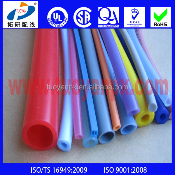 High temperature silicone rubber protective sleeve