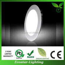 Best service and high quality led round panel light 120mm with 280lm