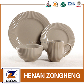 2016 Popular and Hot-selling Stoneware Wedding Dinnerware Sets