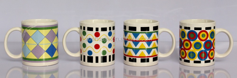 Exquisite pattern and hot sale decal ceramic 11OZ MUG