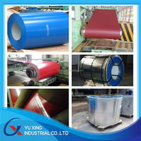 Modern house materials prepainted zinc coat steel z50 / galvanized steel coils / PPGI