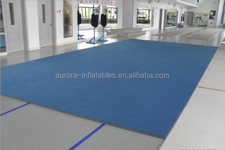 roll-up carpet surface mat/rhythmic gymnastic mat for gym training