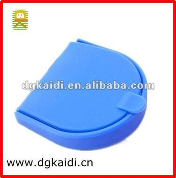 2012 hot selling men silicone coin purse