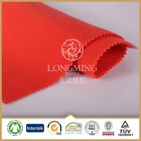 china fabric manufacturer cheap TR 2 side brushed fabric wool hand feel for womens winter clothing