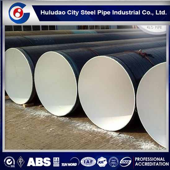 Factory price!!pe coating anti-corrosion pipeline,large diameter sprial steel pipe