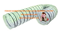 extendable transparent plastic kids toy play tunnel