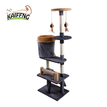 Classic Multi Level Furniture Cat Scratching Post Eco-friendly Puppy Designer Cat Tree