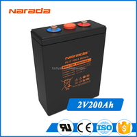 Narada REXC Series Solar Long Life 2V 200Ah Lead Carbon Rechargeable Battery