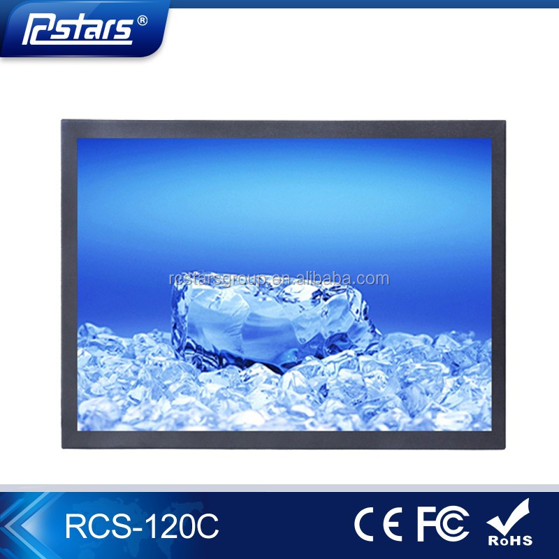 advertisement on computers, oem/odm 12 inch indoor tft lcd ad player(RCS-120C)