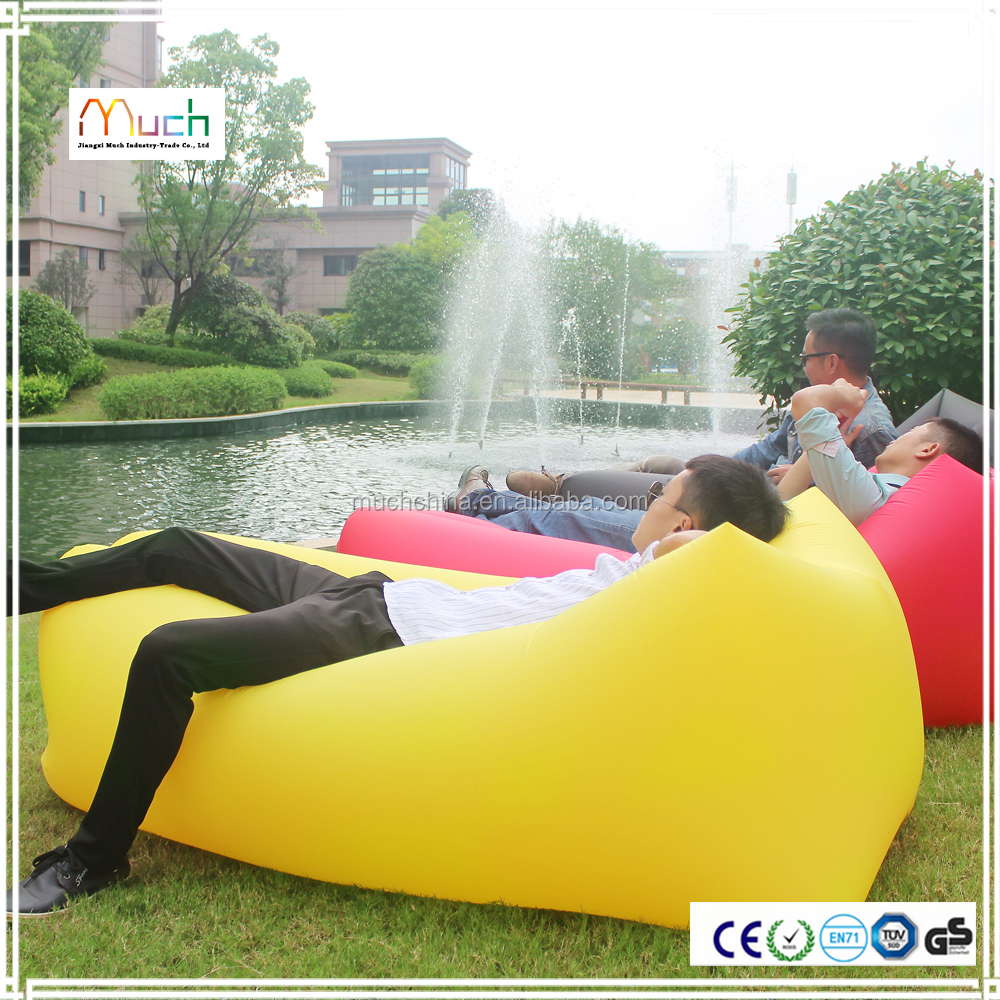 Alibaba best selling inflatable air cushion sofa