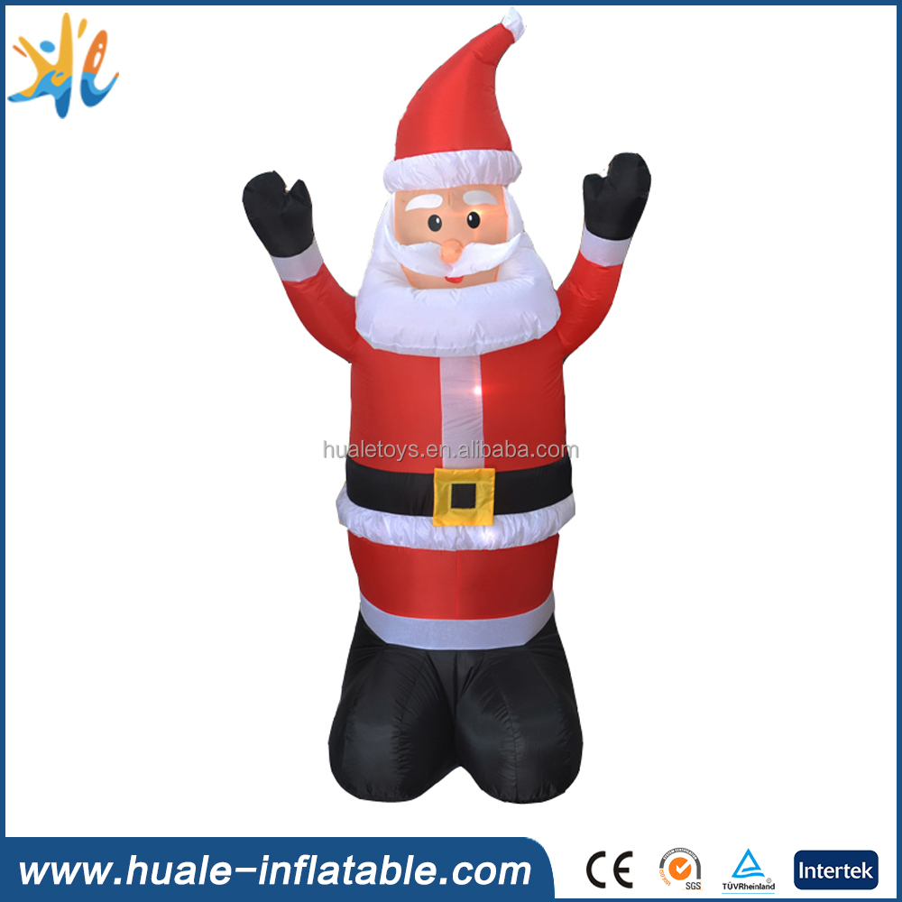 outdoor advertising inflatable santa/claus/model/christmas advertising claus