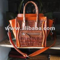 Exotic genuine crocodile leather handbags,shoulder bags,purses