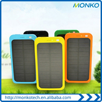 New Solar Sun Power Bank 4000mah solar Charger Powerbank For Smartphoone