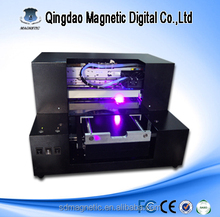 2015 High Quality A3 size A4 size Digital Flatbed UV Printer