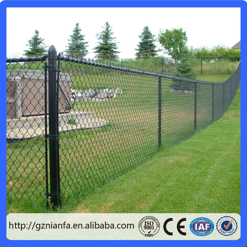 commercial /residential 11 gauge chain link fence/chain link fabric