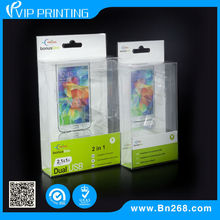 Recyclable With Cardboard Cell Phone USB Plastic Blister Packing