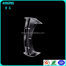 Shenzhen factory supply acrylic lectern podium pulpit holder stand desk display