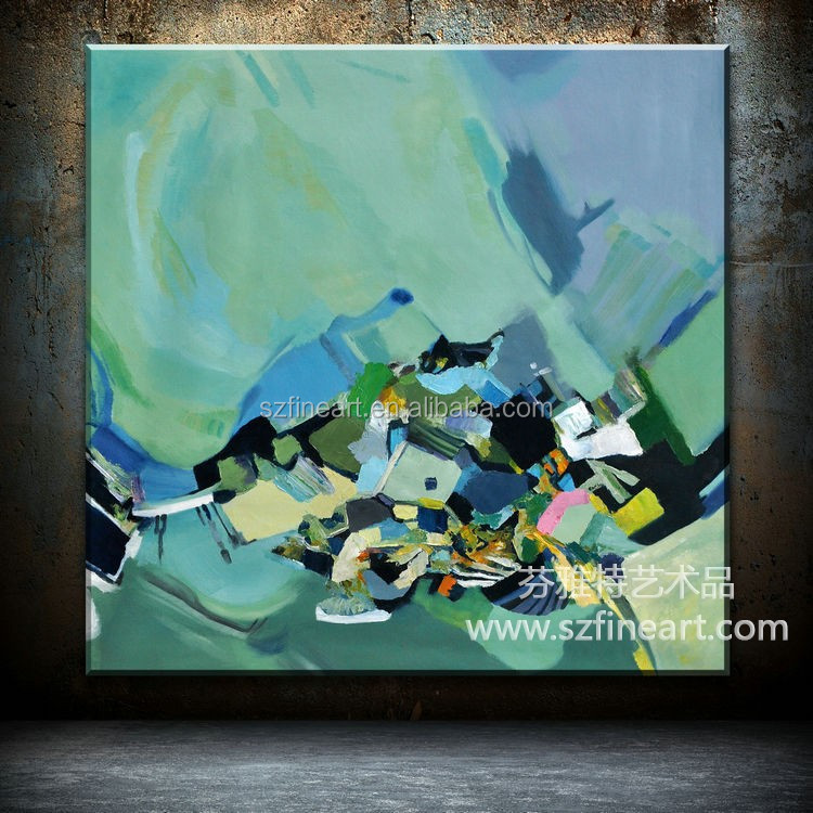 Modern design canvas abstract oil painting