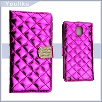 creative fashion mobile phone leather case for samsung galaxy note 3 case