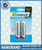 aa battery 1.5v carbon zinc r6 batteries for mp3 player
