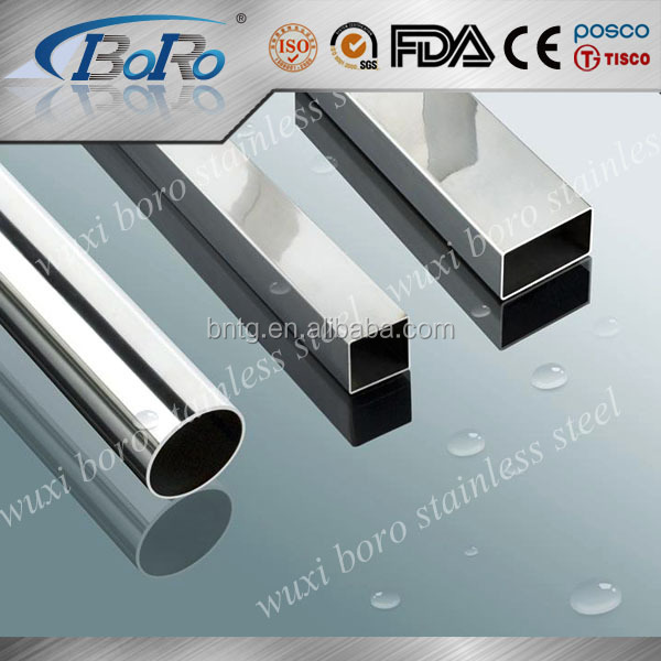 SGS certification ERW welded/seamless stainless steel tubing prices