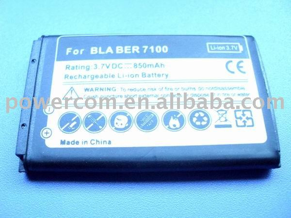 PDA battery pack for 7100