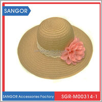 Top quality creative custom fashion beach straw hat