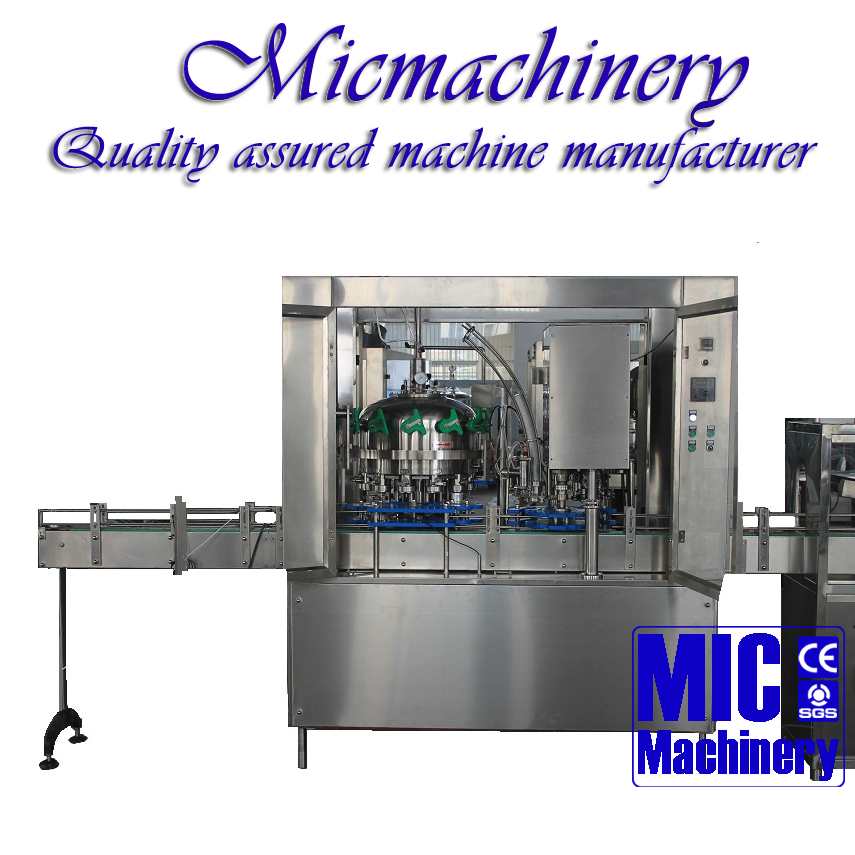 MIC-12-1 Top quality factory produce Micmachinery Aluminum Can/PET Can Filling Machine for beer/Soda 800-1500CPH with CE