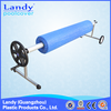 swimming pool cover roller, pool cover collector, pool equipment