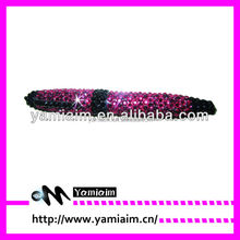 Promotional cheap price high quality rhinestone ball pen