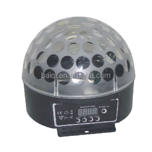 led star effect stage lighting Led Crystal Ball Stage Light